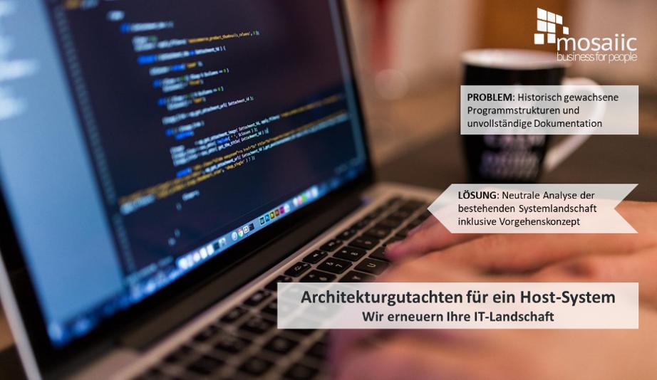 Architekturgutachten für ein Host System